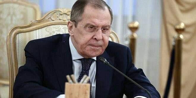 لافروف: الغرب ينتهج معايير مزدوجة حيال سورية في ظل الجائحة