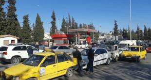 مصدر في النفط: زيادة طلبات البنزين لمحطات الوقود في دمشق