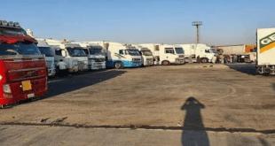الأردن يمنع مرور بعض الشاحنات السورية إلى الخليج عبر أراضيه