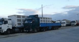 15 شاحنة سورية عالقة على الحدود الإماراتية السعودية منذ 10 أيام