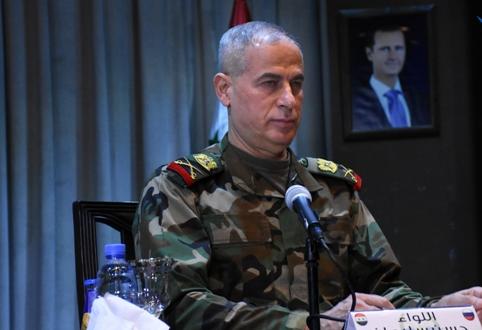 اللواء حسن سليمان: مثلما أن الجيش للحرب فهو للإعمار أيضاً