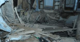 إنقاذ 9 أشخاص في انهيار منزل في حي السويقة في دمشق