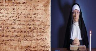 """فك شفرة """"رسالة أملاها الشيطان"""" على راهبة"""