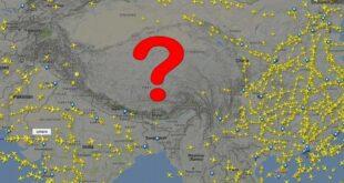 لماذا لا تحلق الطائرات فوق هضبة التبت ؟