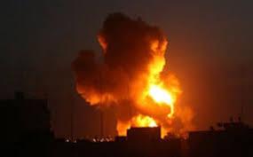 استشهاد عائلة سورية غرب حماه في عدوان اسرائيلي فجر اليوم