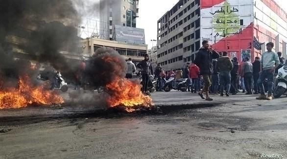 اعتقال سوري شارك في احتجاجات طرابلس واحراق بلديتها!