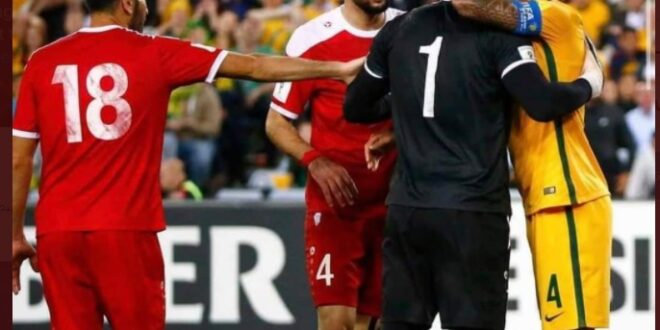 التعليقات السورية تكتسح منشور لاعب كرة قدم استرالي عن المنتخب السوري