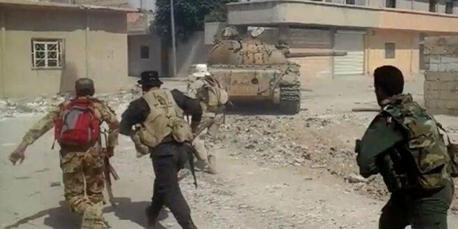 اندلاع الاشتبكات بين «الآساييش» والجيش السوري في القامشلي