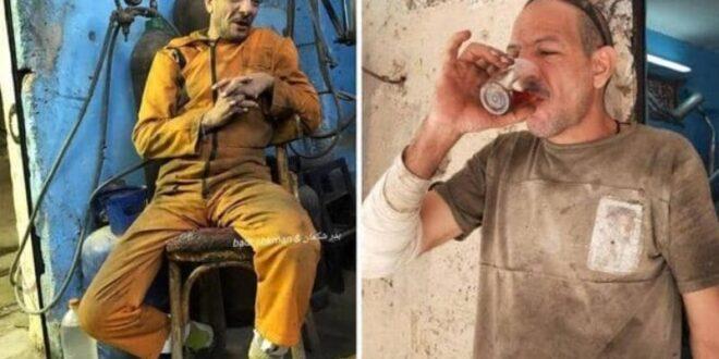 بعبارات لافتة… لحام مصري يصبح نجماً على فيسبوك