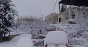 الثلوج قادمة.. تبدأ الاحد في القلمون والثلاثاء تمتد الى مناطق واسعة من سورية