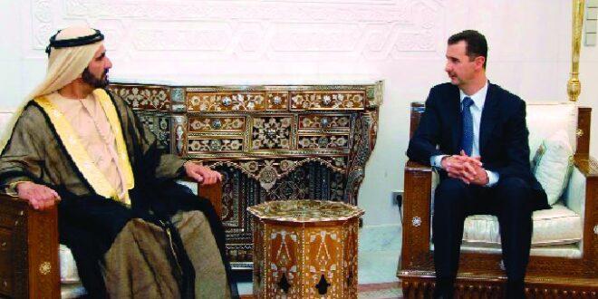 هذا ما قاله الشيخ محمد بن راشد عن الرئيس الأسد في.. «قصتي»