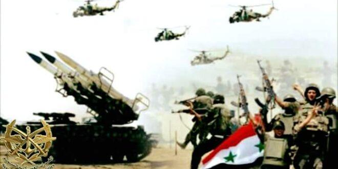 الجيش السوري يستعد لعملية عسكرية كبيرة في البادية السورية