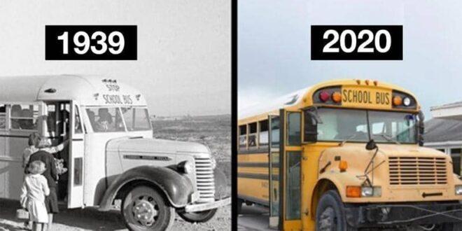 بعد 80 عاما.. لماذا لم يتغير شكل الحافلات المدرسية؟