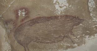 الكشف عن أقدم فن صخري في العالم يقدر عمره بـ45500 عام