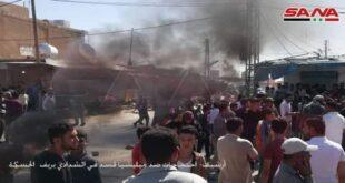 """استشهاد مدني وإصابة آخر برصاص ميليشيا """"قسد"""" شرق الحسكة"""