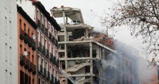 وقوع انفجار وسط العاصمة الإسبانية مدريد
