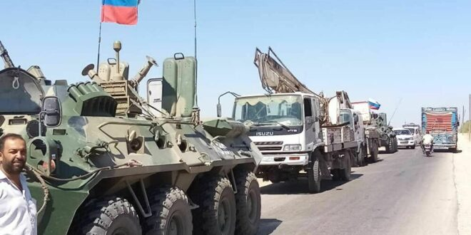 تعزيزات روسية مفاجئة إلى البادية السورية