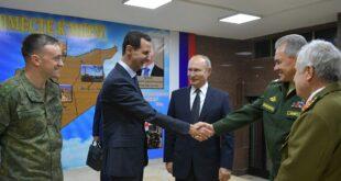 مسؤولين روس يكشفون تفاصيل زيارة بوتين الى دمشق في ليلة الميلاد