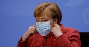 """ميركل: ألمانيا قد تمدد إجراءات إغلاق """"كورونا"""" حتى أبريل المقبل"""