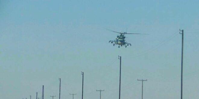 المروحيات الروسية تبدأ تمشيطا تمهيديا في باديتي دير الزور والرقة