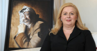 تصريحات صادمة لأرملة ياسر عرفات