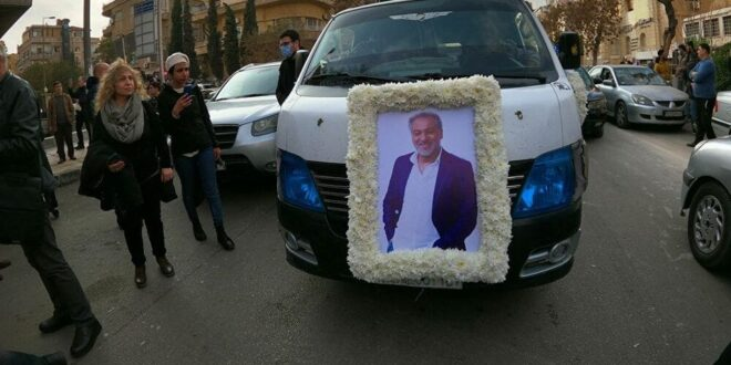 شقيق الراحل حاتم علي يشكر الدولة السورية