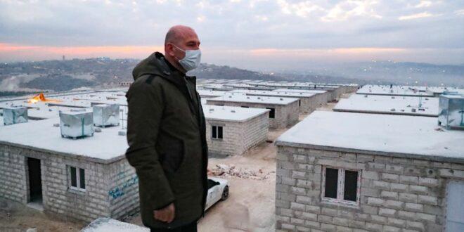 وزير الداخلية التركي في إدلب