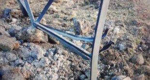 تفجير برج الكهرباء المغذي لمحافظة القنيطرة