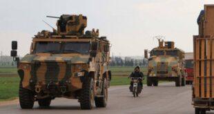 هجوم مسلح على رتل عسكري تركي شمال إدلب