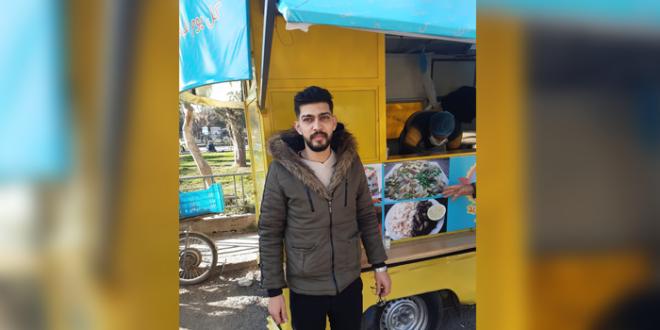 """""""شاكرية ورز"""".. مطبخ متنقل يجوب شوارع حمص"""