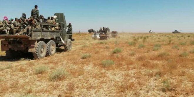 استشهاد 8 عناصر من الدفاع الوطني شرقي سوريا