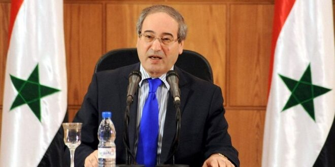 الاتحاد الأوروبي يفرض عقوبات على وزير الخارجية فيصل المقداد