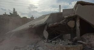 """حلب تزيل ٣٦ مخالفة بناء على محور الطريق الدولي إلى دمشق.. و""""الحبل على الجرار"""""""