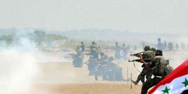 معارك البادية تحتدم..غارات وتمشيط لتأمين طريق دير الزور- حمص