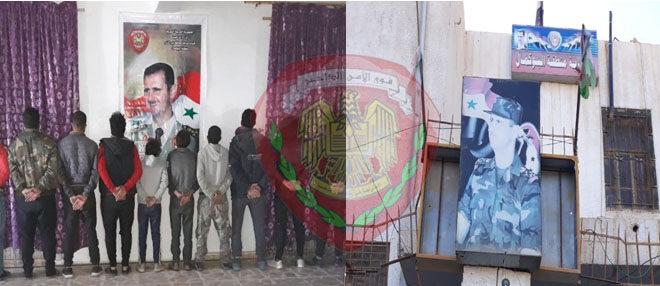 توقيف عصابة من 10 أشخاص في دير الزور تمتهن سرقة الأسلاك الكهربائية