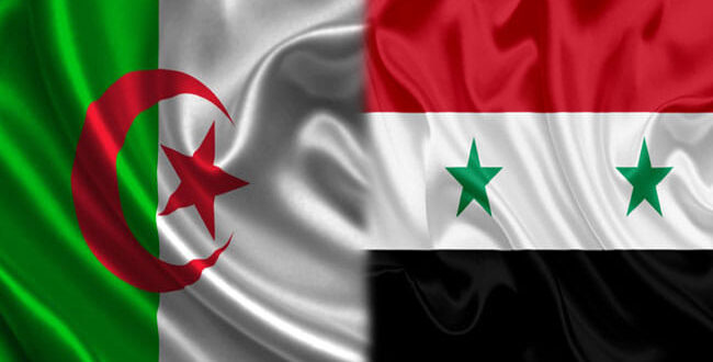 مباحثات جزائرية سورية لتعزيز العلاقات الاقتصادية بين البلدين