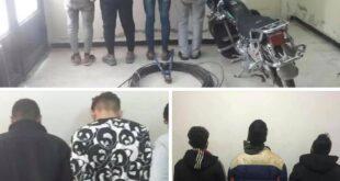 القبض على عصابتين لسرقة الكابلات الكهربائية في حمص وريفها