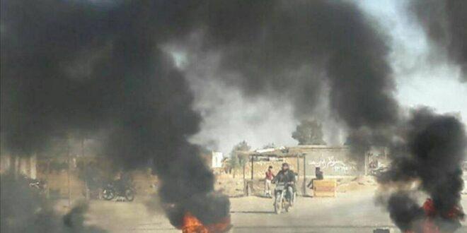 سانا تعلق على أنباء الانفجارات في ريف دير الزور