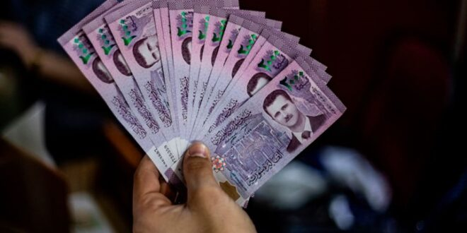 الدكتور عابد فضلية يدعو لطرح ورقة 10000 ليرة بالتوازي مع فئة 5000 ليرة