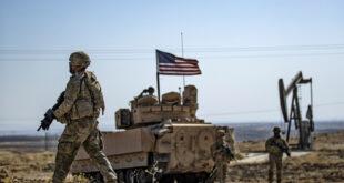 """الجيش الأمريكي يخرج شاحنات محملة بحبوب """"مسروقة"""" من الحسكة إلى شمال العراق"""