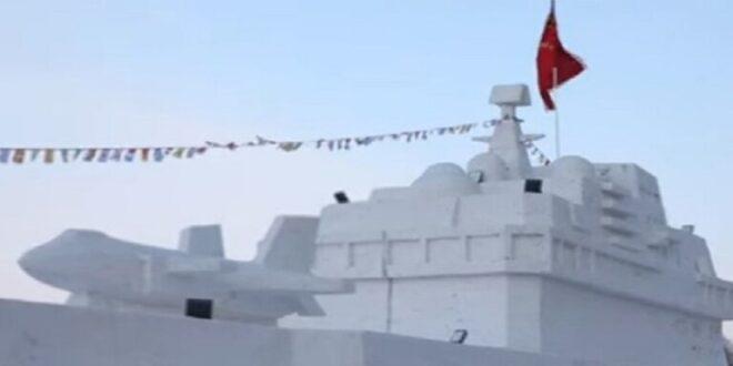الصين تبني حاملة طائرات ثلجية.. شاهد