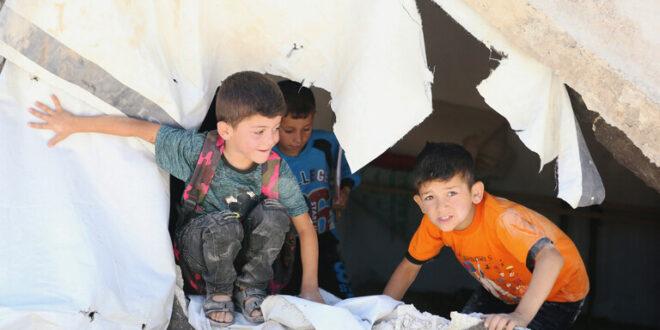 منظمة دولية: ظروف قاسية تواجه اللاجئين السوريين في بلدة عرسال بلبنان