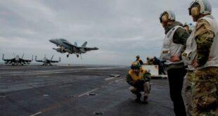 البنتاغون يسحب حاملة الطائرات الوحيدة بالشرق الأوسط