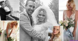 باميلا أندرسون تتزوج حارسها الشخصي ليصبح خامس زواج لها