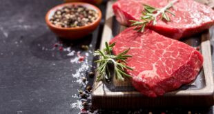 لحم الماعز او لحم الغنم