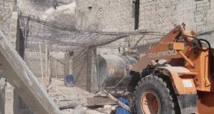 نظراً لخطورتها .. مجلس مدينة حلب ينفذ حملة هدم مركزية تستهدف عدد من الأبنية المخالفة