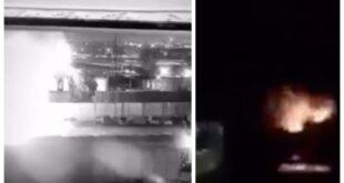 فيديو ينشر للمرة الأولى للحظة استهداف سيارة سليماني