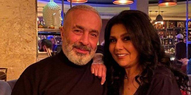 """رسالة رومنسية من زوج صباح الجزائري """"ام عصام"""" اللبناني: حافظت عليك 38 سنة"""
