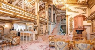 قصر مطلي بالذهب للبيع بسعر بخس في روسيا.. والسبب؟