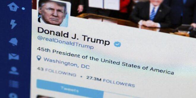 تويتر وفيس بوك يعلقان حسابات دونالد ترامب لانتهاكه قواعد وسياسة الاستخدام